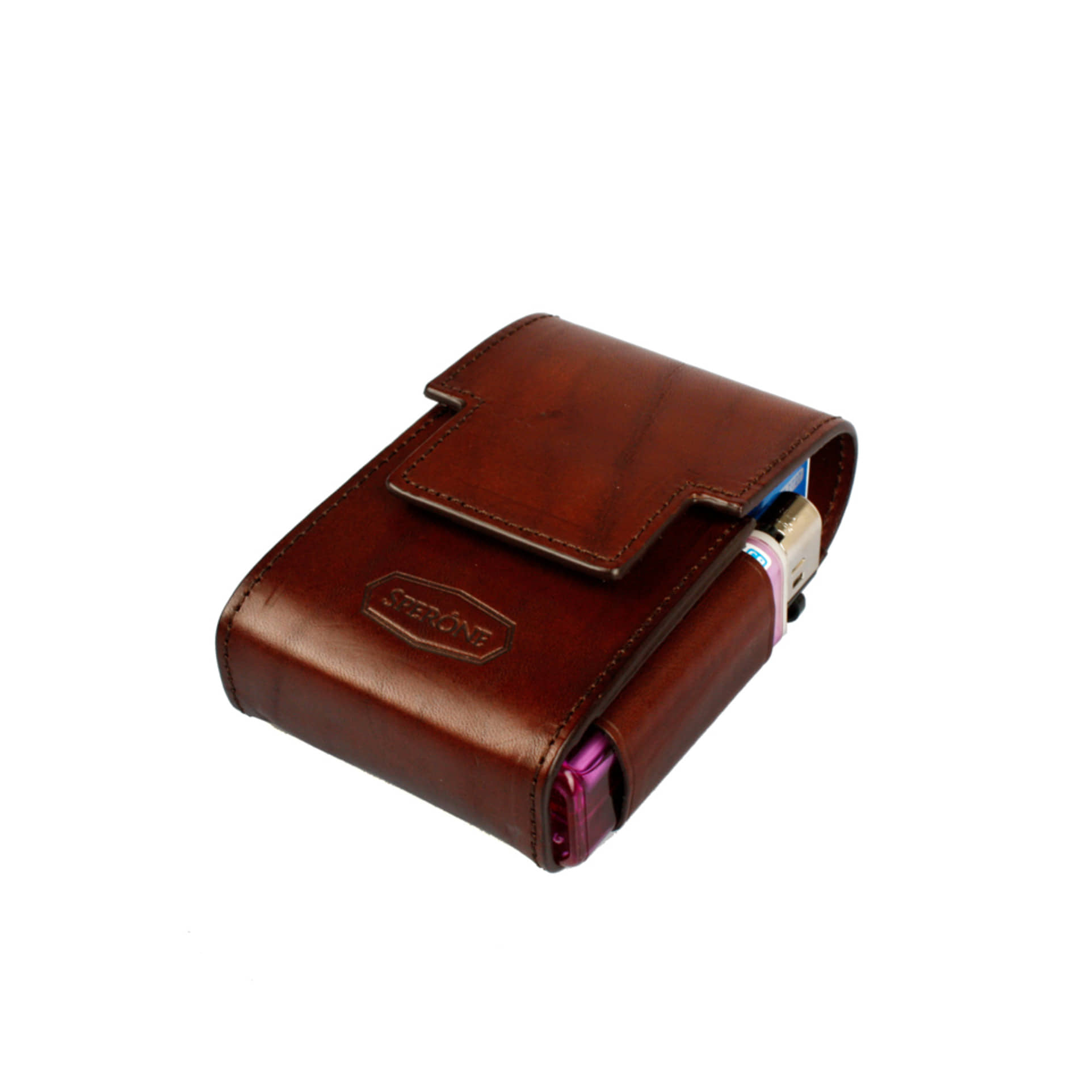 SPERONE CIGARETTE CASE [BROWN]