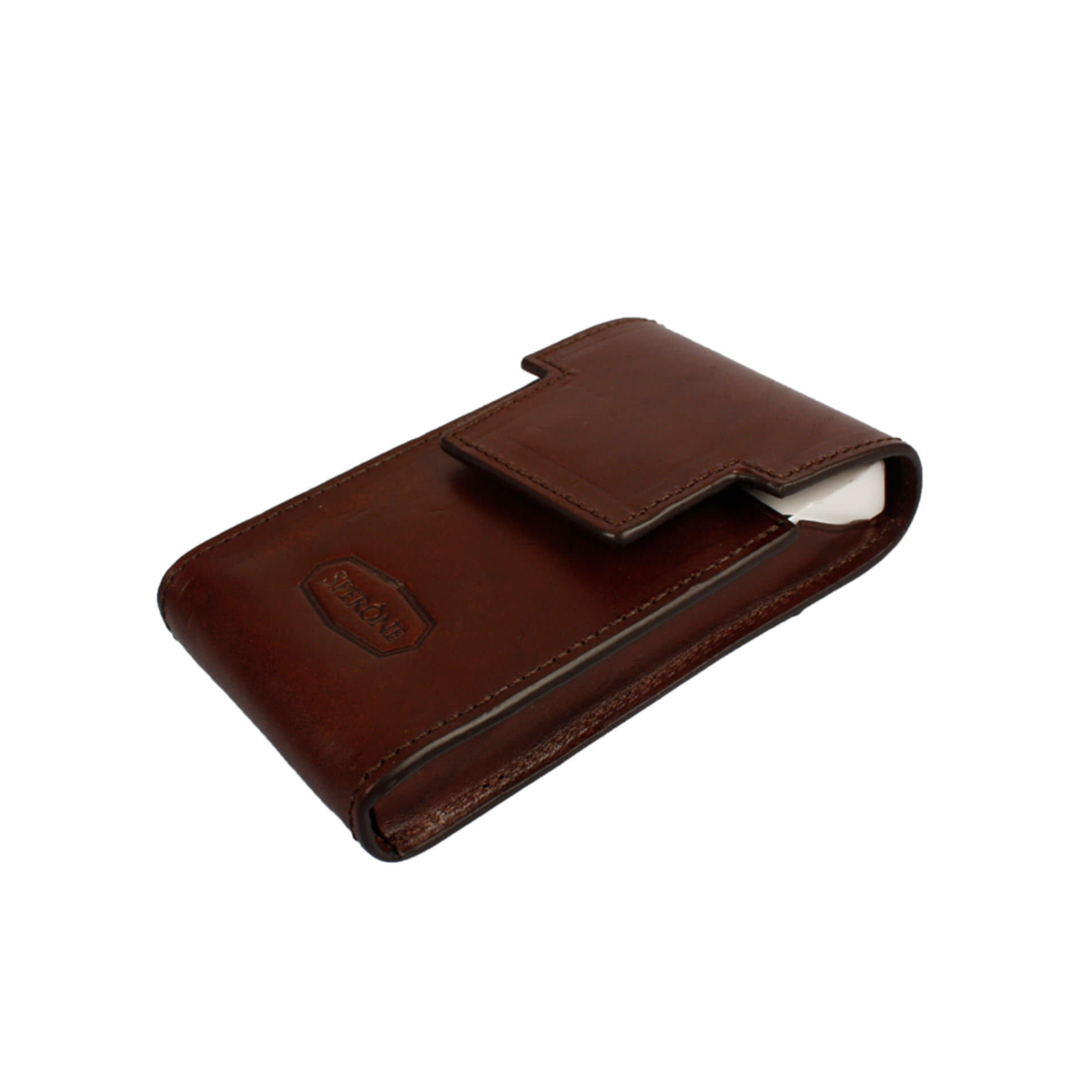 SPERONE CIGARETTE CASE SLIM [BROWN]