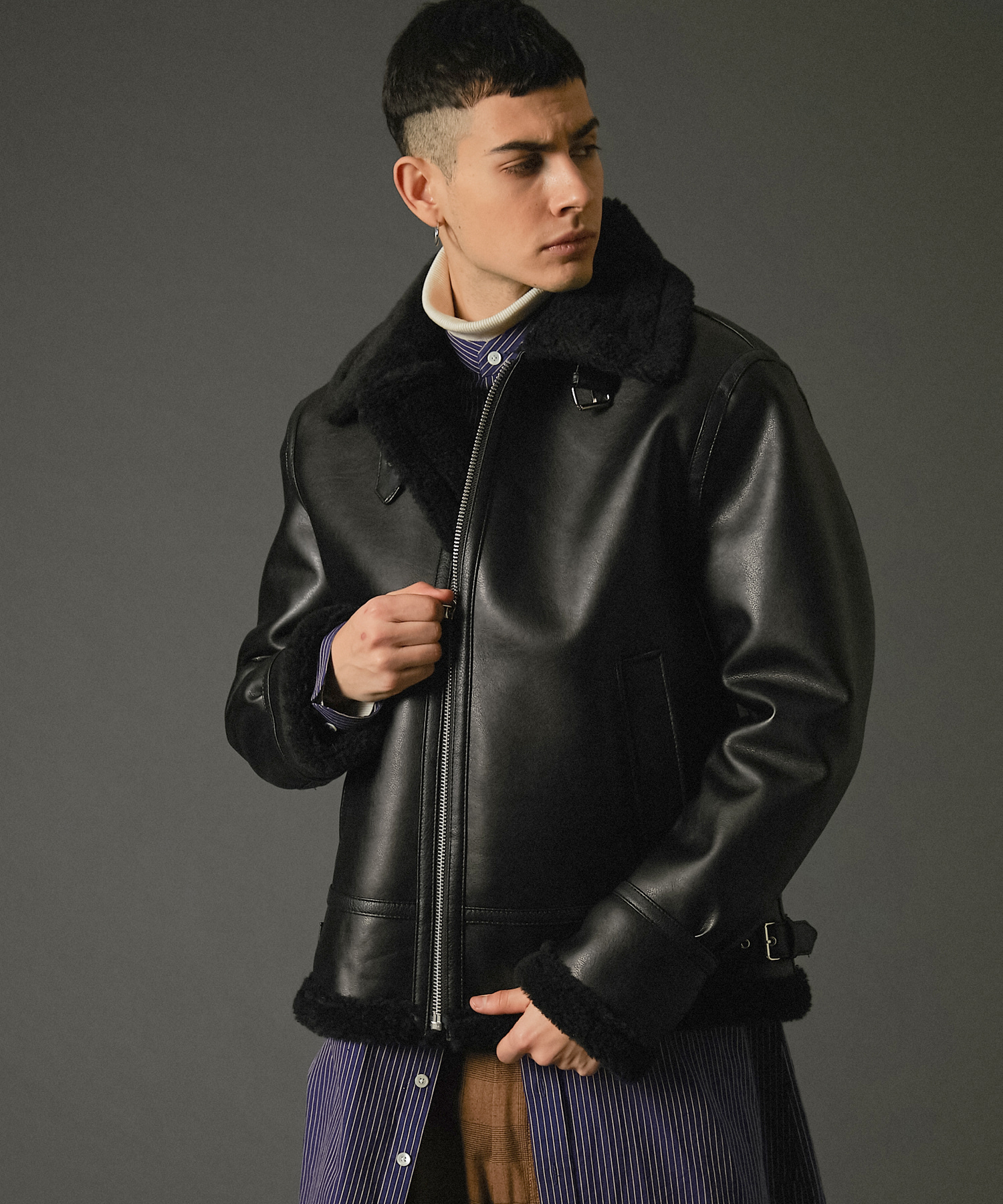 SPERONE FAKE B3 JACKET [BLACK]