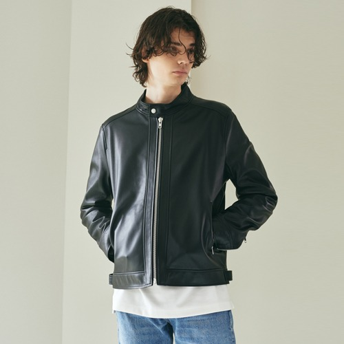 SPERONE Lambskin China Collar Jacket