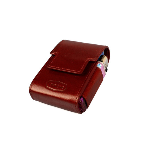 SPERONE CIGARETTE CASE [BURGUNDY]