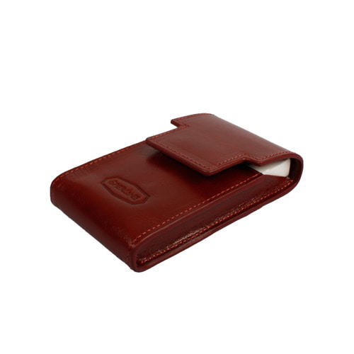 SPERONE CIGARETTE CASE SLIM [BURGUNDY]