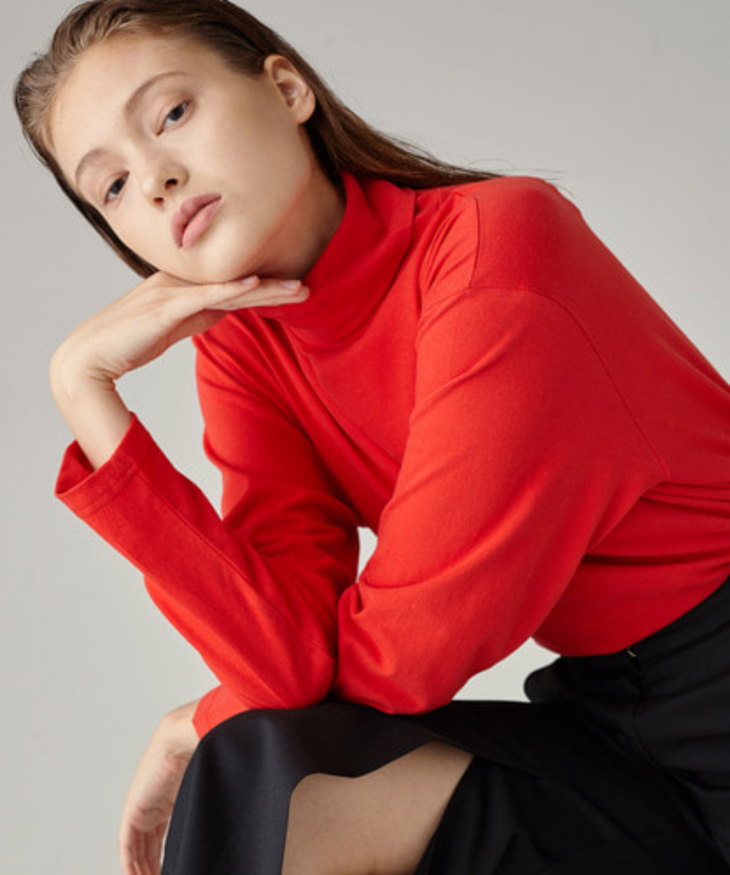 SPERONE TURTLE NECK [RED]