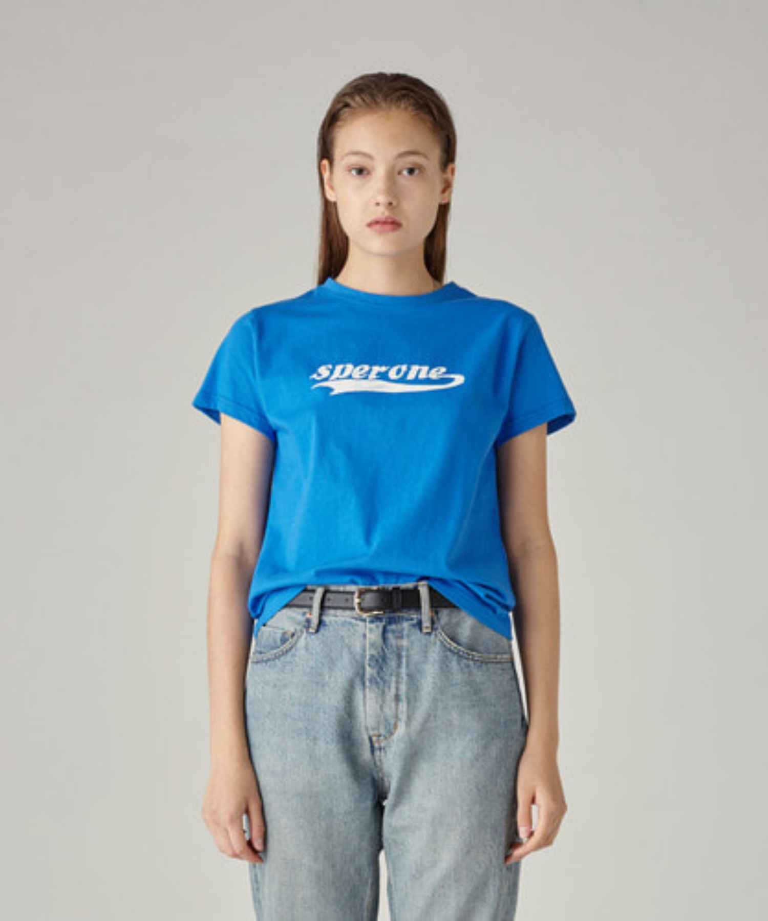 SPERONE LOGO T-SHIRT [BLUE/S]