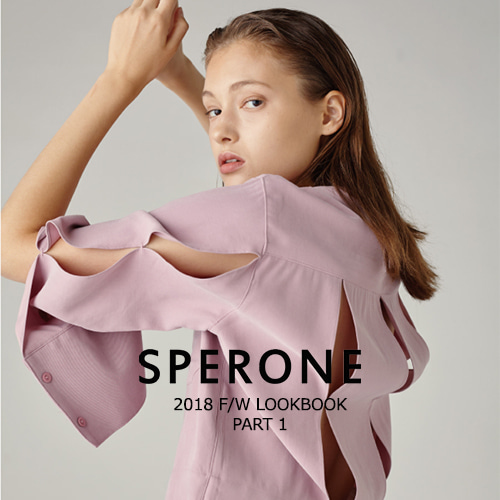 SPERONE 2018 F/W LOOKBOOK PART 1
