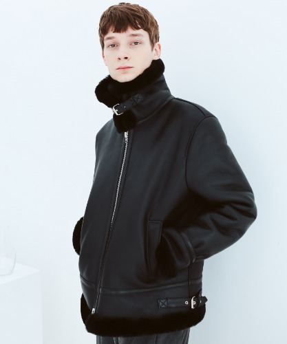 SPERONE REAL B3 MUSTANG JACKET [BLACK]