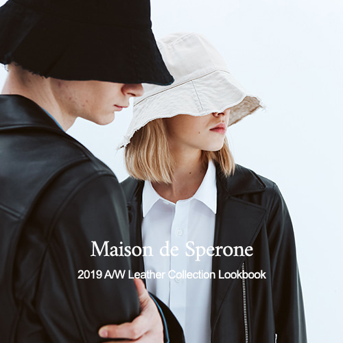 SPERONE 2019 A/W LEATHER COLLECTION LOOK BOOK