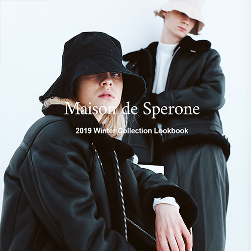 SPERONE 2019 WINTER COLLECTION LOOK BOOK