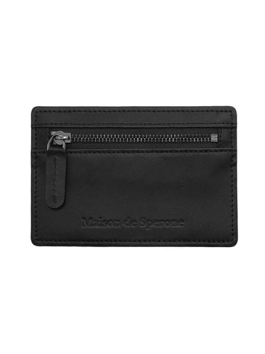 SPERONE Cowhide Card Wallet [Black]