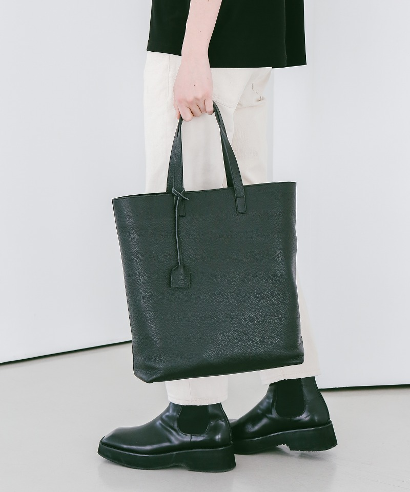 SPERONE Shrunken Cowhide Tote Bag