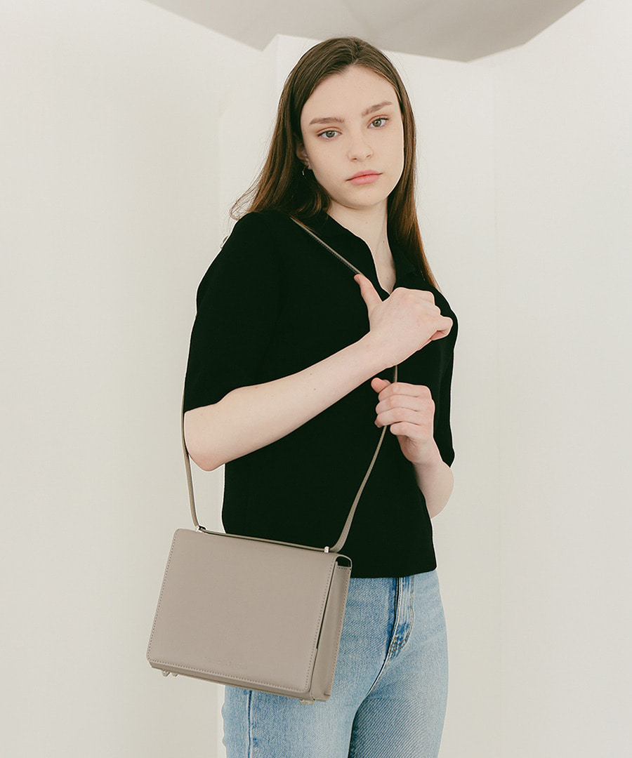 SPERONE Square Trunk Bag [Ash Gray]
