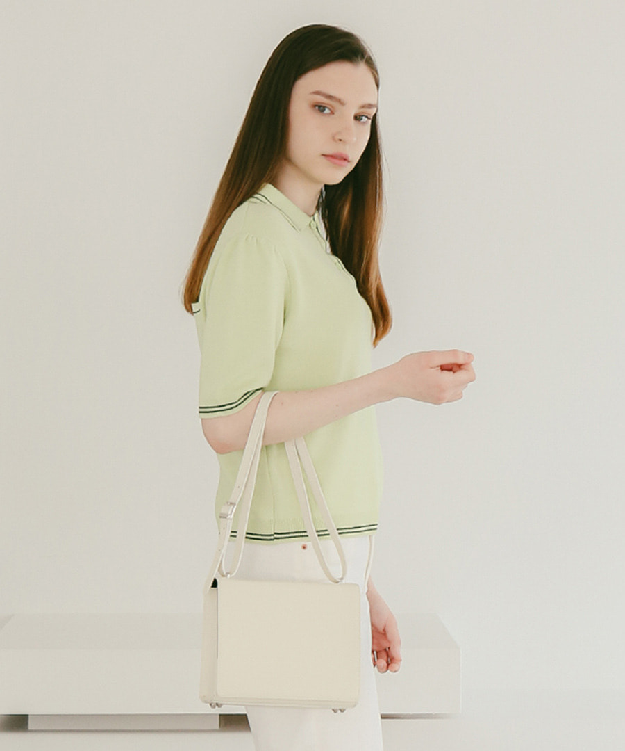 SPERONE Square Trunk Bag [Ivory]