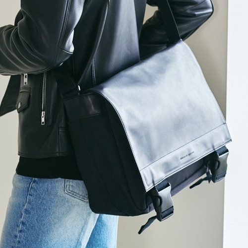 SPERONE Detailed Messenger Bag